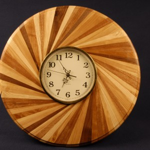 Counter clockwise clock